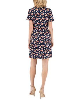 B Collection by Bobeau - Celeste Smocked-Waist Tee Dress