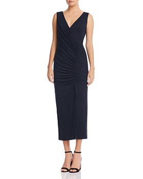 Bailey 44 - Aphrodite Ruched Drawstring Midi Dress