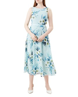 HOBBS LONDON - Carly Floral Midi Dress