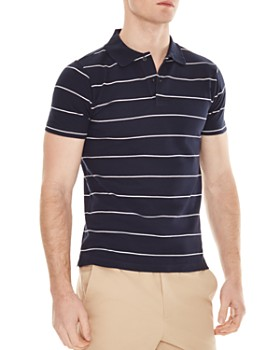d8ae7906 Sandro - Stripe Slim Fit Polo Shirt ...