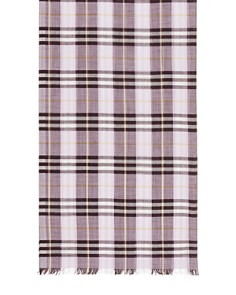 Burberry - Vintage Check Gauze Scarf