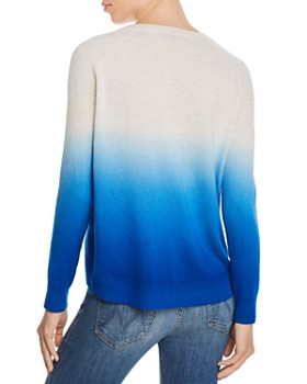 AQUA - Dip-Dye Cashmere Sweater - 100% Exclusive