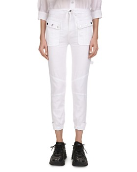 The Kooples - Cropped Tapered Utility Pants
