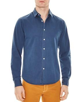 c9d570c78 Sandro - Chambray Slim Fit Shirt ...
