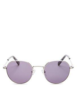 Le Specs Luxe - Unisex Drifter Round Sunglasses, 49mm