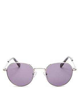 Le Specs Luxe - Unisex Drifter Round Sunglasses, 49mm