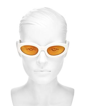 Le Specs - Women's Meteor Amour Cat Eye Sunglasses, 53mm