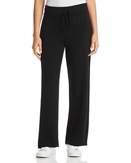 C by Bloomingdale's - Wide-Leg Cashmere Pants - 100% Exclusive