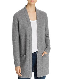C by Bloomingdale's - Open-Front Brushed Cashmere Cardigan - 100% Exclusive