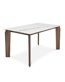 "Huppé - Magnolia 60"" Ceramic Top Dining Table"