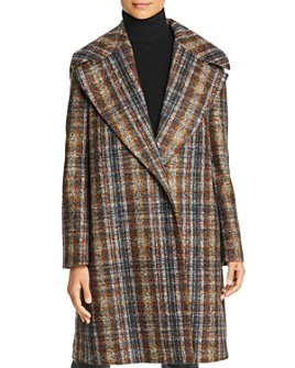 Lafayette 148 New York - Lebell Plaid Coat