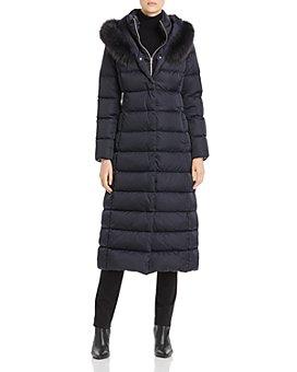 Herno - Fur-Trim Maxi Down Coat