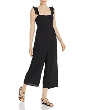 Show Me Your MuMu -  Annie Cropped Wide-Leg Jumpsuit