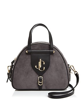 Jimmy Choo - Varenne Bowling Medium Leather Shoulder Bag