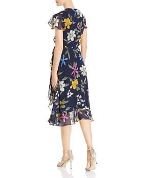 Adrianna Papell - Floral-Print Chiffon Midi Dress