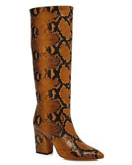 Loeffler Randall - Women's Sarina Tall Block Heel Boots - 100% Exclusive