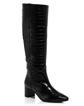 Aquatalia - Women's Karen Weatherproof Embossed Leather Tall Boots