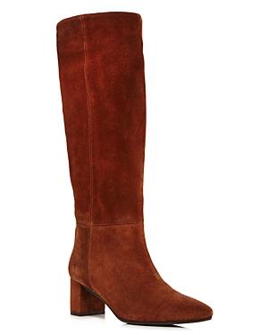 Aquatalia Women's Karen Weatherproof Embossed Leather Tall Boots