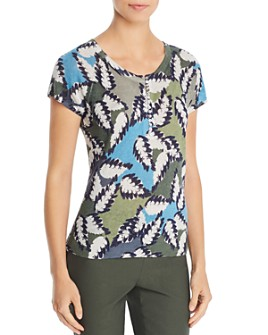 NIC and ZOE - Canopy Patterned Knit Top