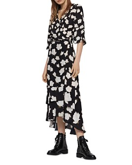 ALLSAINTS - Delana Caro Floral Wrap Dress