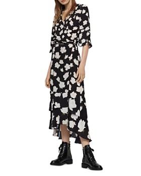 ALLSAINTS - Delana Caro Floral Wrap Dress