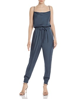 Cinq à Sept - Finnley Twill Cowl-Neck Jumpsuit