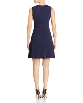 KARL LAGERFELD Paris - Button-Accent Sheath Dress