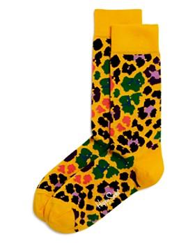 Happy Socks - Mixed-Leopard Socks