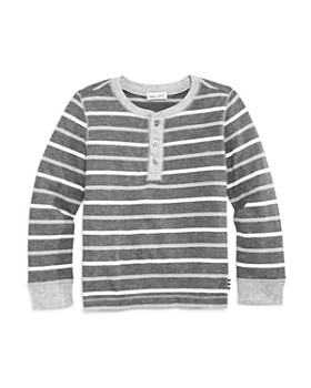 Splendid - Boys' Striped Henley Tee - Little Kid
