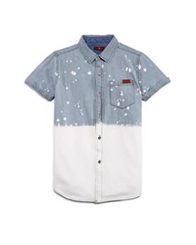 7 For All Mankind - Boys' Splatter Camp Shirt - Little Kid