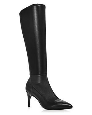 Charles David Boots WOMEN'S PHENOM STRETCH LEATHER TALL BOOTS