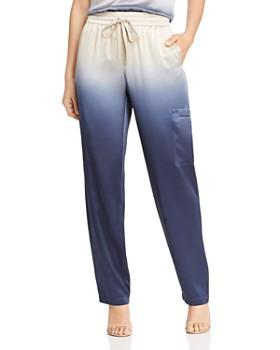 Lafayette 148 New York - Myrtle Dip-Dyed Silk Drawstring Pants