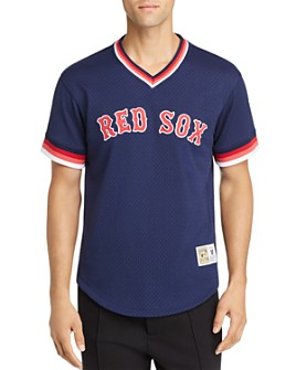 MITCHELL & NESS - Red Sox Mesh Tee