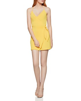 BCBGENERATION - Tie-Front Crossover Dress