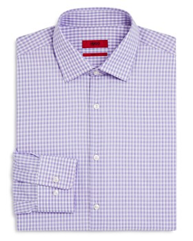 HUGO - Shaded Check Regular Fit Dress Shirt