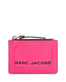 MARC JACOBS - Slim Top-Zip Leather Wallet