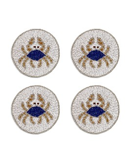 Joanna Buchanan - Crab Coasters, Set of 4