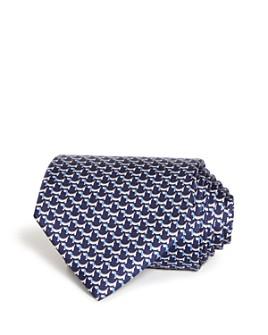 Salvatore Ferragamo - Puppy Print Silk Classic Tie