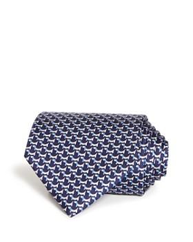 8f7013cabf2c Salvatore Ferragamo - Puppy Print Silk Classic Tie ...