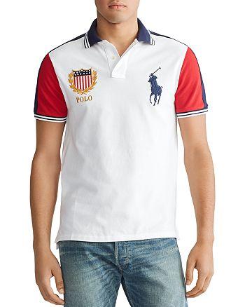 Polo Ralph Lauren - Custom Slim Fit Contrast-Sleeve Mesh Polo