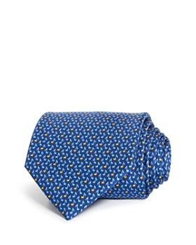 Salvatore Ferragamo - Giall Silk Classic Tie
