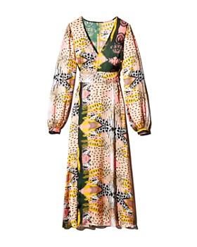 Fe Noel - Print Wrap Dress - 100% Exclusive