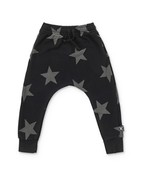 NUNUNU - Boys' Star Baggy Pants - Little Kid