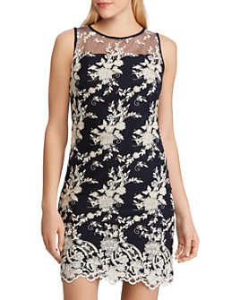 Ralph Lauren - Lace-Embroidery Sheath Dress