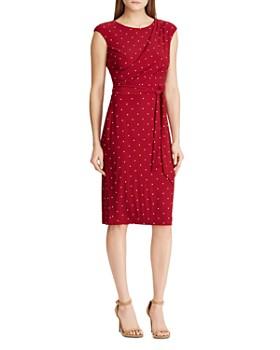 Ralph Lauren - Polka-Dot Jersey Dress