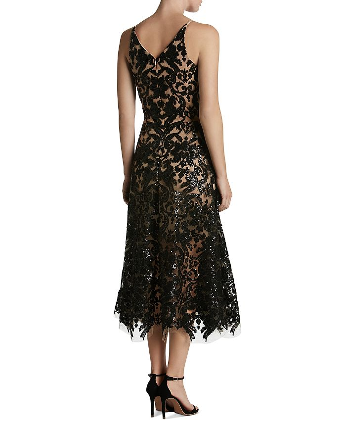 87b893968a1a0 Dress the Population Blair Sequin Lace Dress | Bloomingdale's
