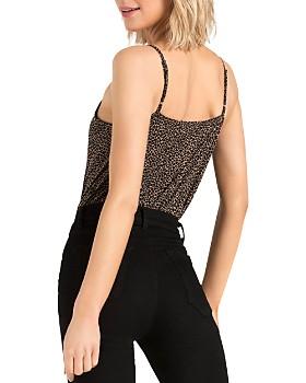 n:philanthropy - Peppermint Leopard-Print Bodysuit