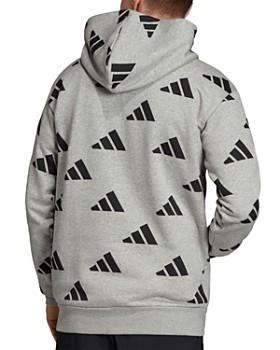 adidas Originals - Arc Logo-Print Hooded Sweatshirt
