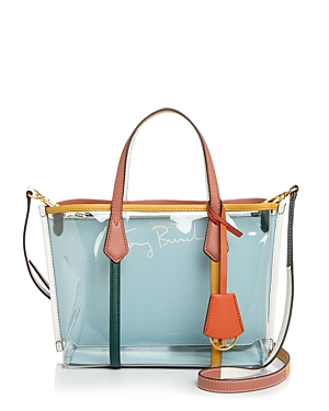 Tory Burch Perry Small Clear Tote