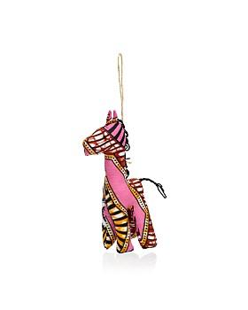 TO THE MARKET - Kitenge Giraffe Ornament